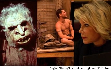 Scenes from 'Best Worst Movie,' 'Restrepo,' and 'Joan Rivers: A Piece of Work'