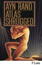'Atlas Shrugged' Paperback Cover