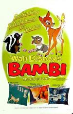 'Bambi' Re-Release Theatrical Poster