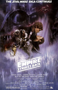 Star Wars V: The Empire Strikes Back poster