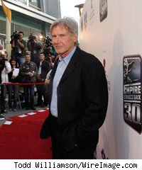 Harrison Ford at the The Empire Strikes Back