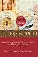 'letters to juliet' book