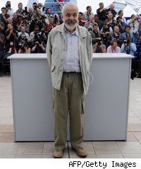 Mike Leigh at Cannes Film Festival 2010