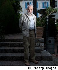 Mike Leigh at the Cannes Film Festival 2010