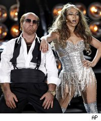 Tom Cruise and Jennifer Lopez perform at the 2010 MTV Movie Awards