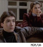 John Cusack and Daphne Zuniga in 'The Sure Thing'