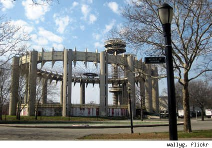 NY State Pavilion, Flushing Meadows