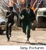 Seth Rogan and Jay Chou in 'The Green Hornet'