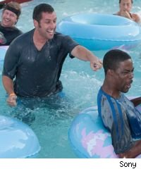 Adam Sandler and Chris Rock in 'Grown Ups'