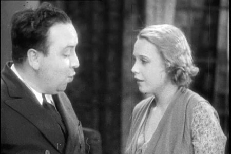Hitchcock and Anny Ondra