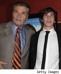 Justin Long and Fred Willard