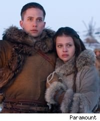 Jackson Rathbone and Nicola Peltz in 'The Last Airbender'