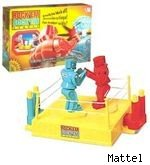 Rock 'Em Sock 'Em Robots toy
