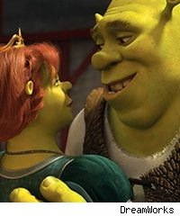 Fiona and Shrek in 'Shrek Forever After'