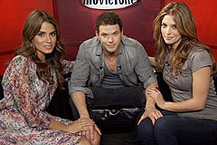 The Twilight Saga: Eclipse - Unscripted Interview with Nikki Reed, Ashley Greene and Kellan Lutz
