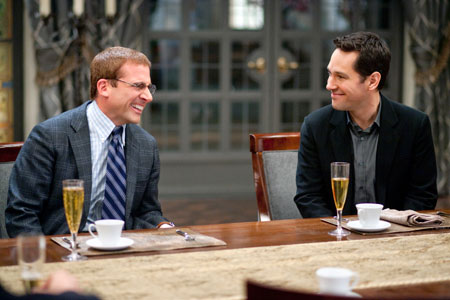 Steve Carell and Paul Rudd in 'Dinner for Schmucks' (Paramount Pictures)