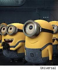 Minions in 'Despicable Me'