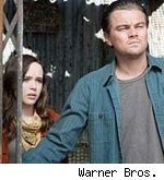 Ellen Page and Leonardo DiCaprio in 'Inception'