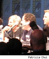 Cowboys and Aliens panel