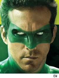 Ryan Reynolds in 'The Green Lantern'
