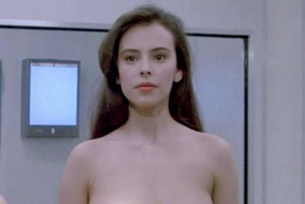 Mathilda May as Space Girl in 'Lifeforce' (AKA Space Vampire)