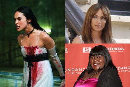 Megan Fox in 'Jennifer's Body,' Jennifer Lopez, Gabourey Sidibe