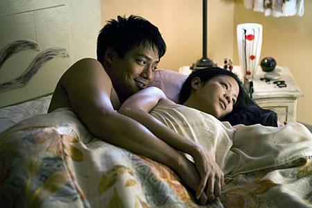 Karin Cheung and Archie Kao in Quentin Lee's 'The People I've Slept With'