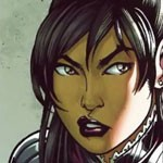 Nico in comic book series 'Runaways'