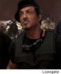 Sylvester Stallone in 'The Expendables'