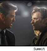 Pierce Brosnan and Ewan McGregor in 'The Ghost Writer'