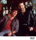 Eric Roberts and Mickey Rourke in 'The Pope of Greenwich Village'