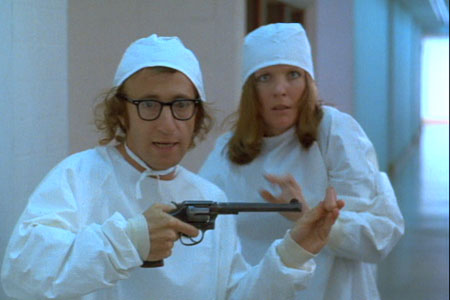 Woody Allen and Diane Keaton in 'Sleeper'