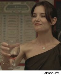 Katie Holmes in 'The Romantics'