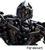 Megatron in 'Transformers: Revenge of the Fallen'