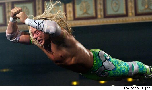 Mickey Rourke as The Wrestler