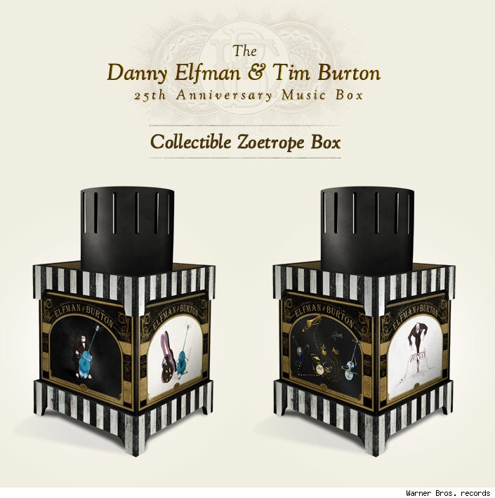 gallery the danny elfman and tim burton 25th anniversary music box