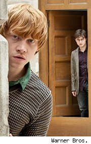 Rupert Grint and Daniel Radcliffe