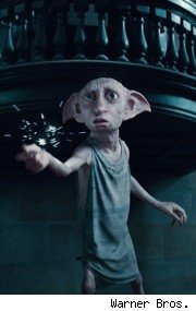 Dobby in Harry Potter and the Deathly Hallows Part I