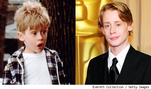 Male Child Actors Then And Now Then: mac's turn as precocious