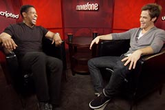 'Unstoppable' Unscripted Interview with Denzel Washington and Chris Pine