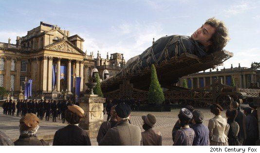 review gulliver's travels 2010 by jack black movie
