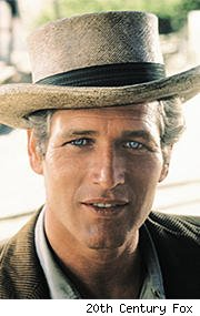 Paul Newmman in 'Butch Cassidy and the Sundance Kid'