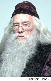 Richard Harris as Albus Dumbledore in the 'Harry Potter' movies