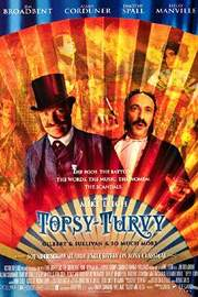 'topsy-turvy' poster