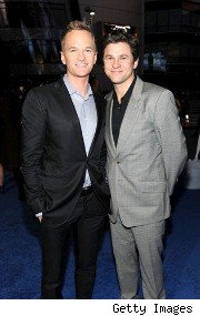 Neil Patrick Harris and David Burtka at the People's Choice Awards 2011