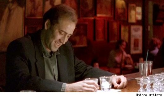 Nicolas Cage in 'Leaving Las Vegas'