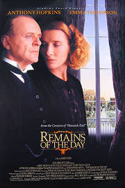 'The Remains of the Day' poster