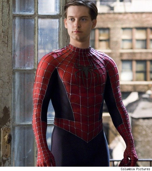 First Look at Andrew Garfield as 'Spider-Man'   Moviefone.com Tobey Maguire Moviefone
