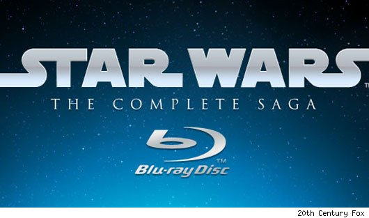 Official Star Wars Blu-Ray