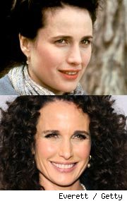 Andie MacDowell Groundhog Day